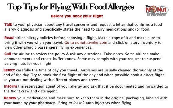 No Nut Traveler - Flight Day